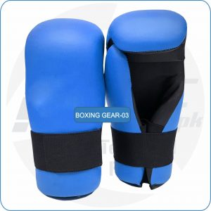 Semi Contact Gloves with elastic wrist with buyers logo manufacturer www.mtaf.pk