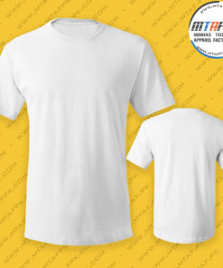 Ready To Ship Mens-Round-Neck T-Shirt manufacturer